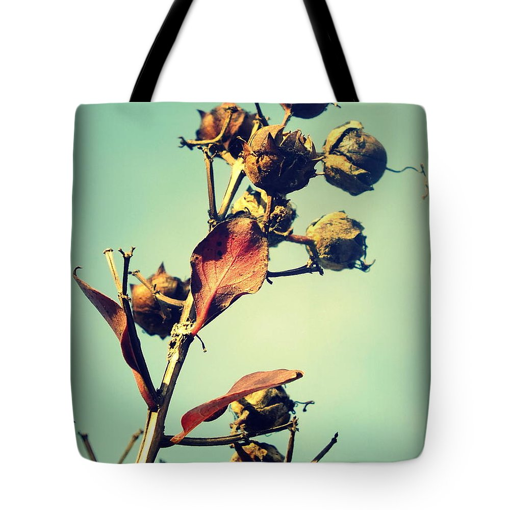 Nature Tote Bag featuring the photograph Russet November I by Melissa Bittinger