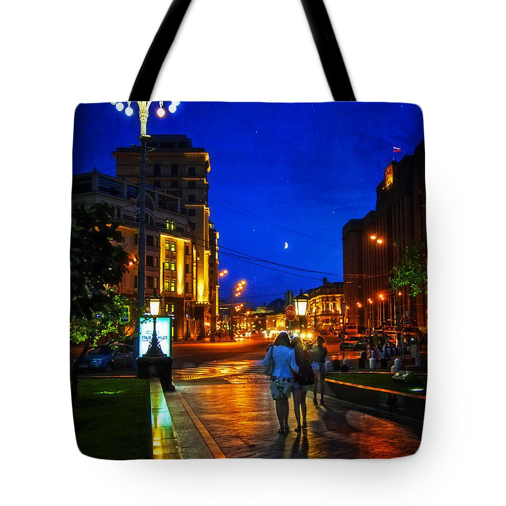Russia Tote Bag featuring the photograph Russian Evening by Madeline Ellis