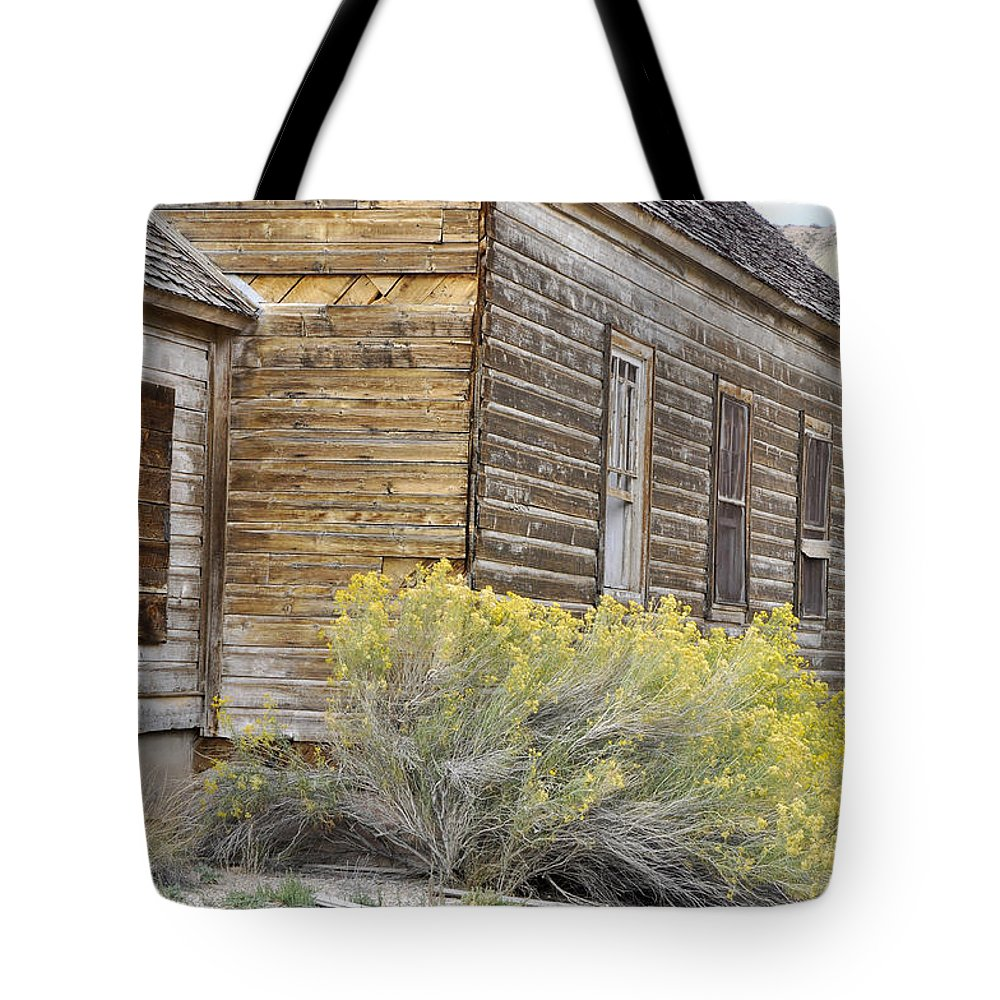 Canvas Prints Tote Bag featuring the photograph Rustic Building by Wendy Elliott