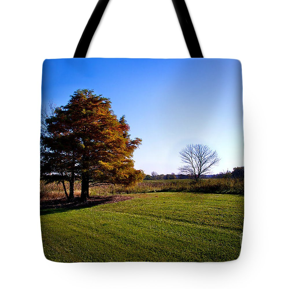 Frankjcasella Tote Bag featuring the photograph Rustic Glory by Frank J Casella