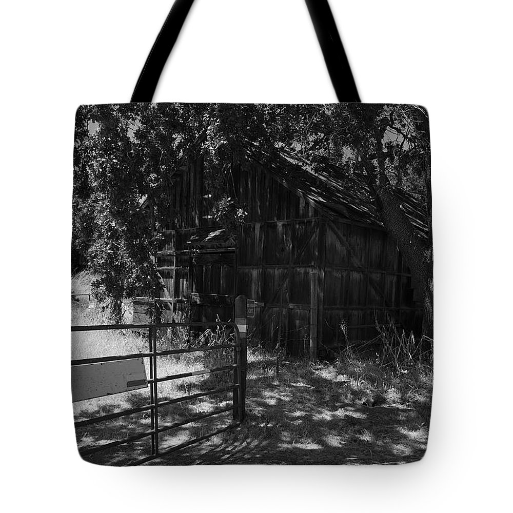 Rustic Tote Bag featuring the photograph Rustic Shed 8 by Richard J Cassato