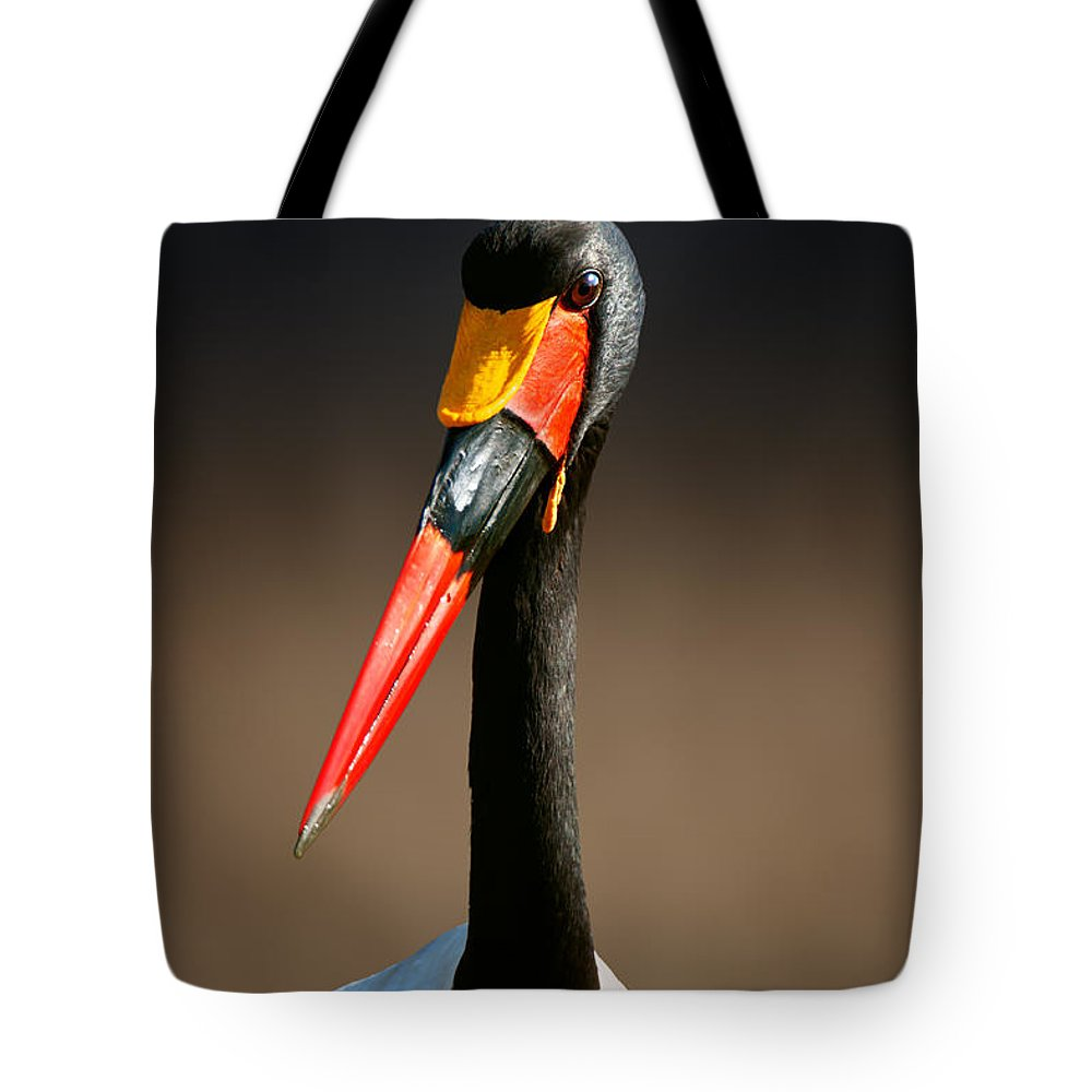 Stork Photographs Tote Bags