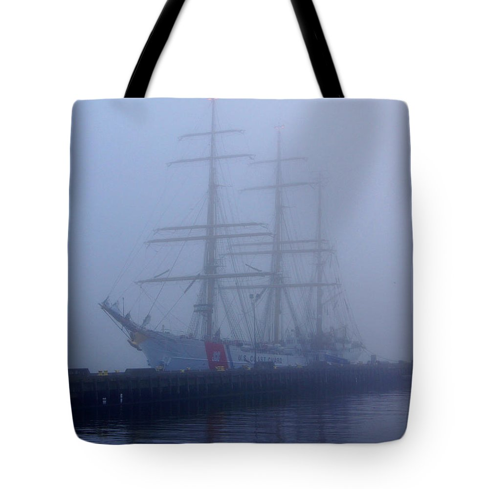Coast Guard Tote Bag featuring the photograph Safe Harbor by Joe Geraci