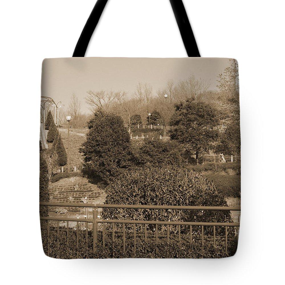 Park Tote Bag featuring the photograph Sagamihara Asamizo Park 16b by Jay Mann