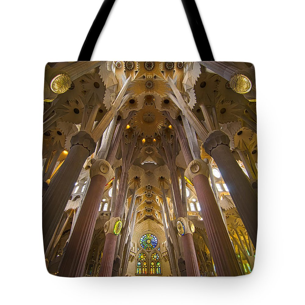 Spain Tote Bag featuring the photograph Sagrada Familia IIi by Jack Daulton