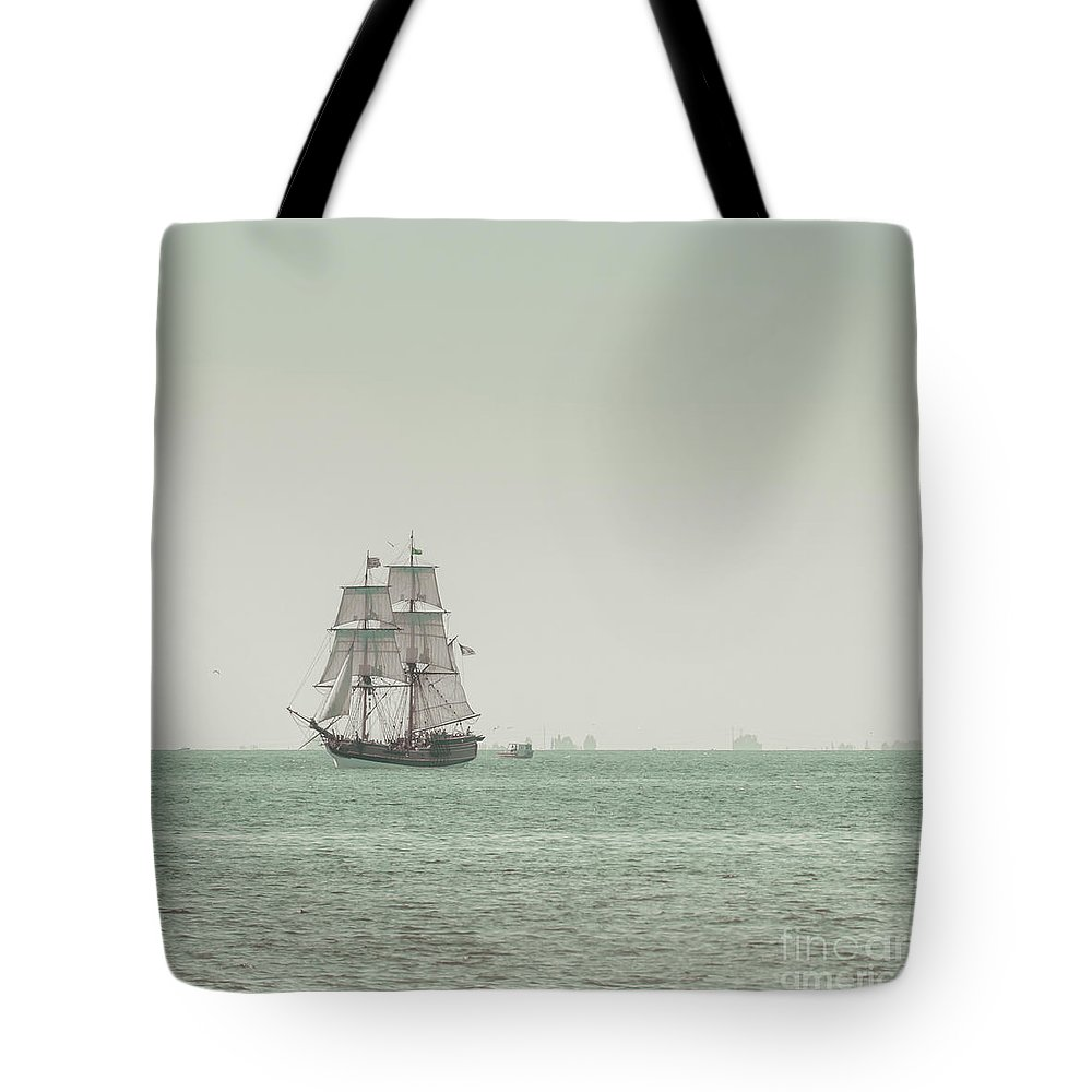 Art Tote Bag featuring the photograph Sail Ship 1 by Lucid Mood