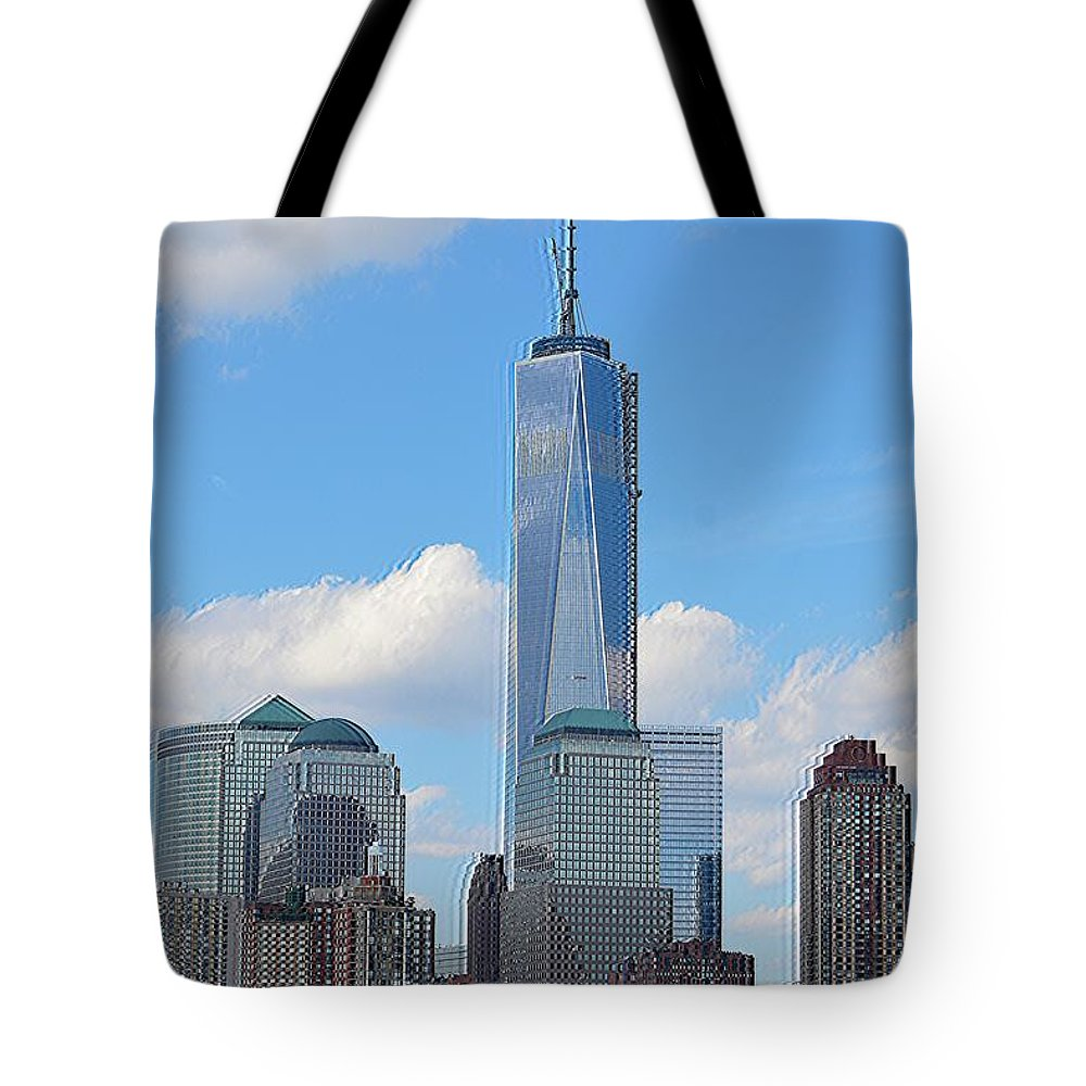 Architecture Tote Bag featuring the photograph Sails And Skyline by Sonali Gangane
