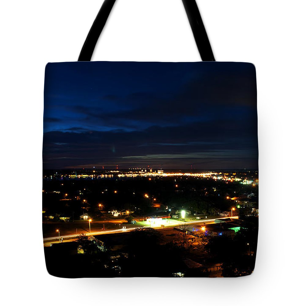 Scenery Tote Bag featuring the photograph Saint Augustine At Dusk by Kenneth Albin