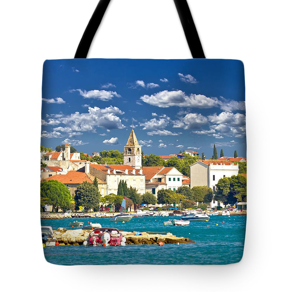 Sveti Filip I Jakov Tote Bag featuring the photograph Saint Filip And Jacob Coast View by Brch Photography