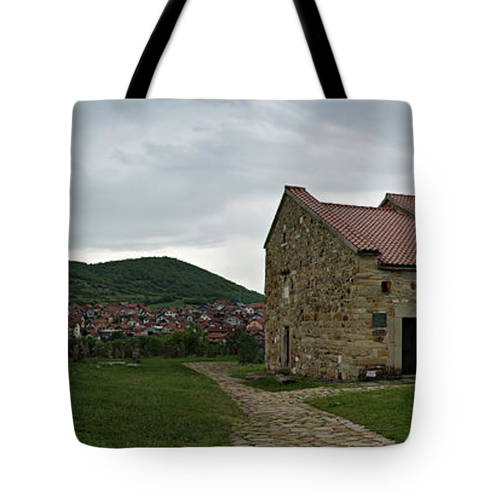 Ancient Tote Bag featuring the photograph Saint Peter's Church by Zoran Berdjan