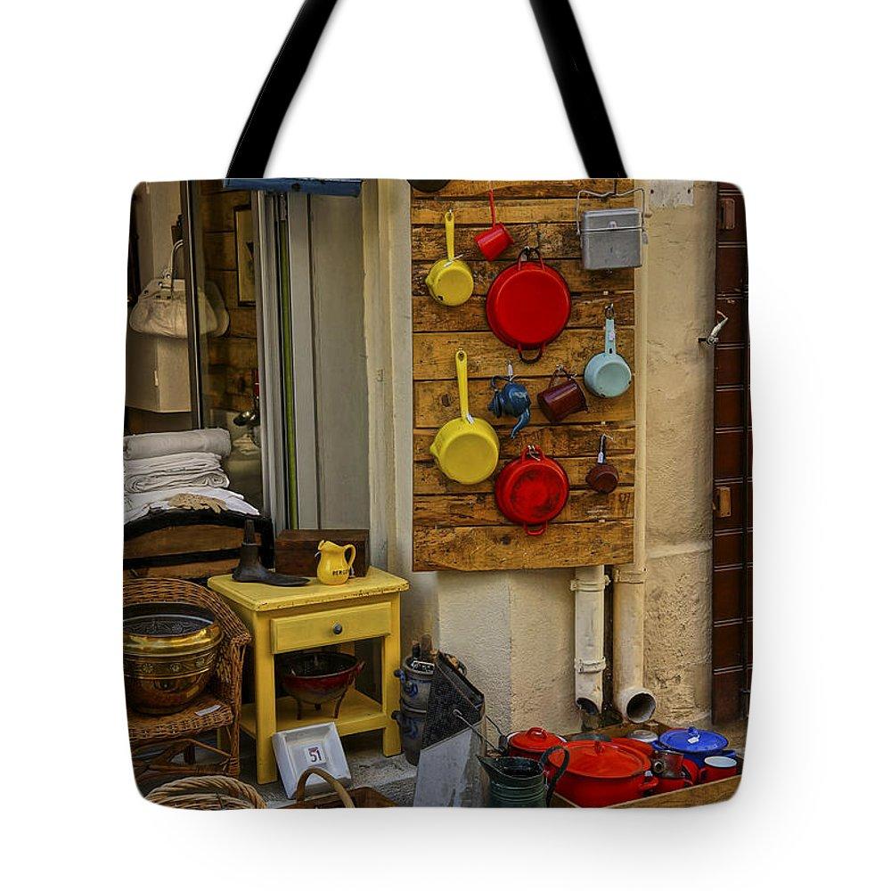 Saint Remy Tote Bag featuring the photograph Saint Remy De Provence France Dsc01944 by Greg Kluempers