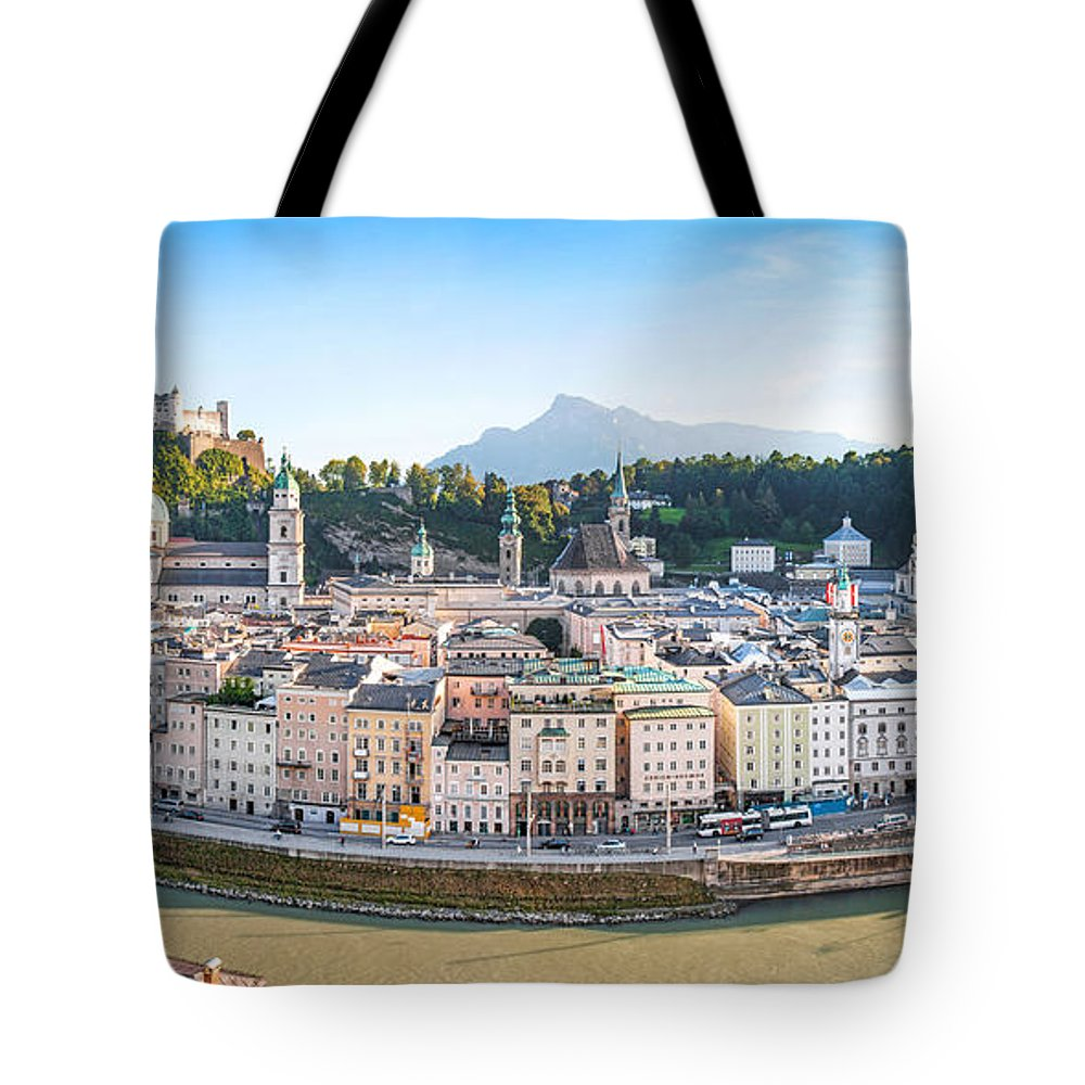 Alps Tote Bag featuring the photograph Salzburg by JR Photography