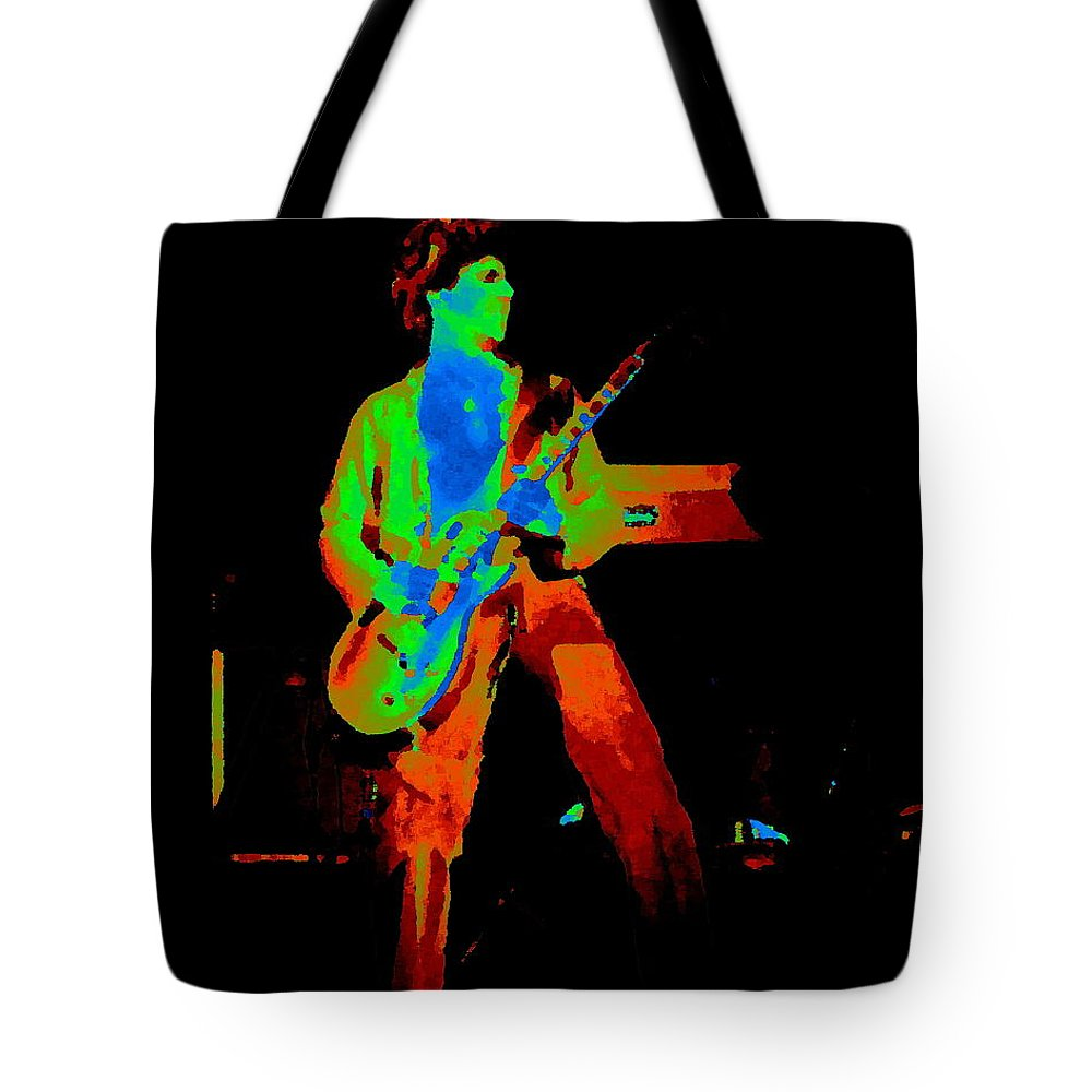 Sammy Hagar Tote Bag featuring the photograph Full Colors 1977 by Ben Upham
