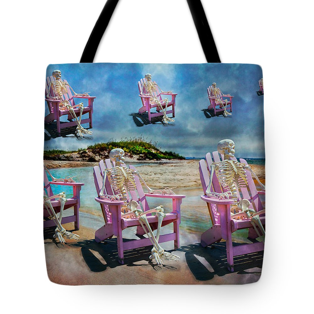 Skeleton Tote Bag featuring the photograph Sam's Imagination by Betsy Knapp