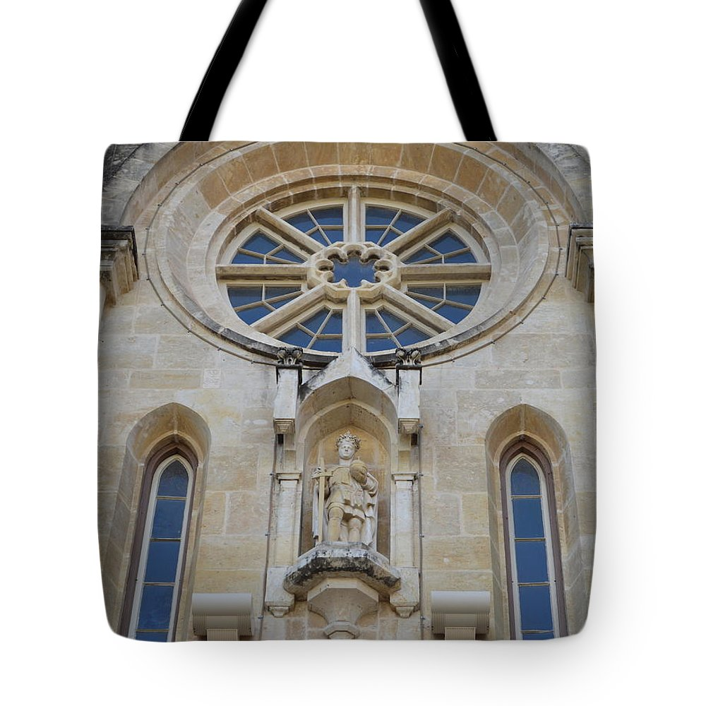 Architecture Tote Bag featuring the photograph San Antonio Church 03 by Shawn Marlow