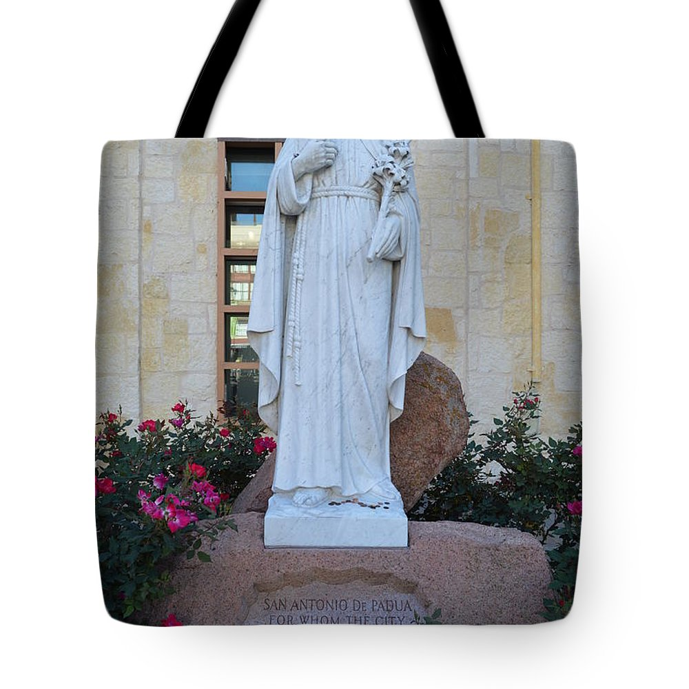 Architecture Tote Bag featuring the photograph San Antonio by Shawn Marlow