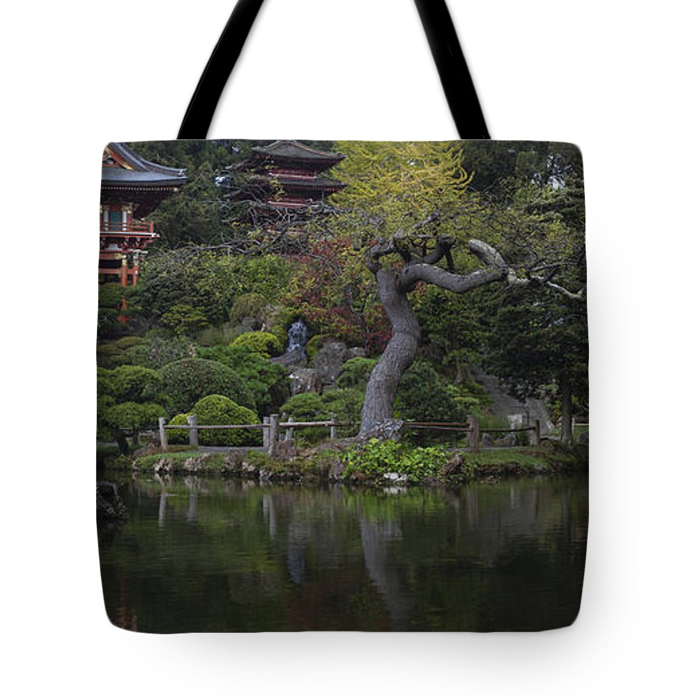 San Francisco Tote Bag featuring the photograph San Francisco Japanese Garden by Mike Reid