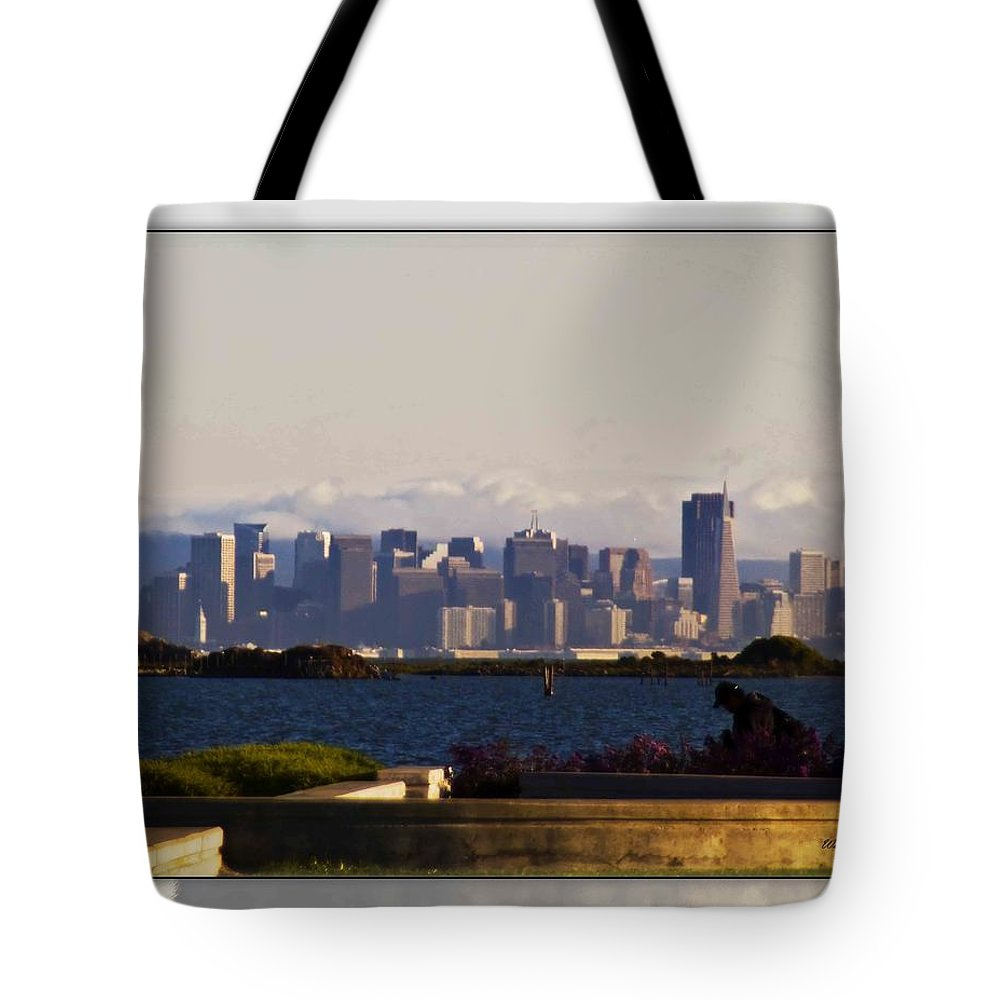 San Francisco Tote Bag featuring the photograph San Francisco by Walter Herrit