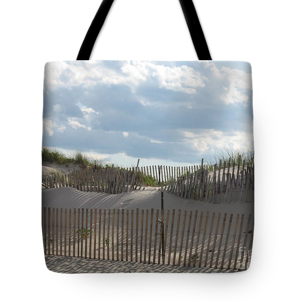 Sand Tote Bag featuring the photograph Sand Dune by Christiane Schulze Art And Photography