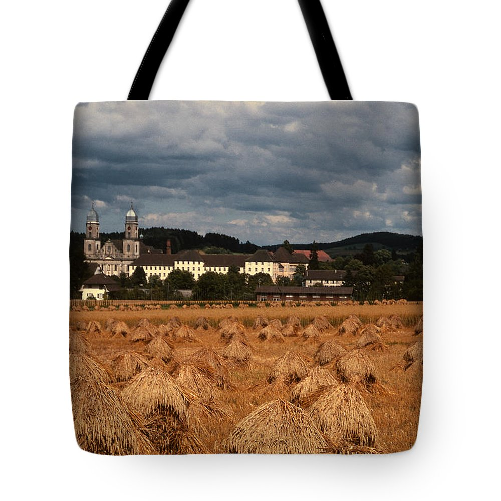 St. Urban Tote Bag featuring the photograph Sankt Urban by Bruce Blanchard