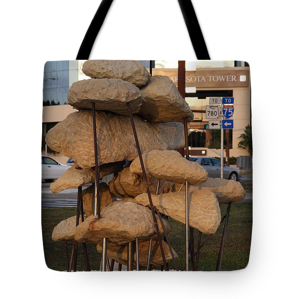 Art Tote Bag featuring the photograph Sarasota - Art 2010 II by Christiane Schulze Art And Photography