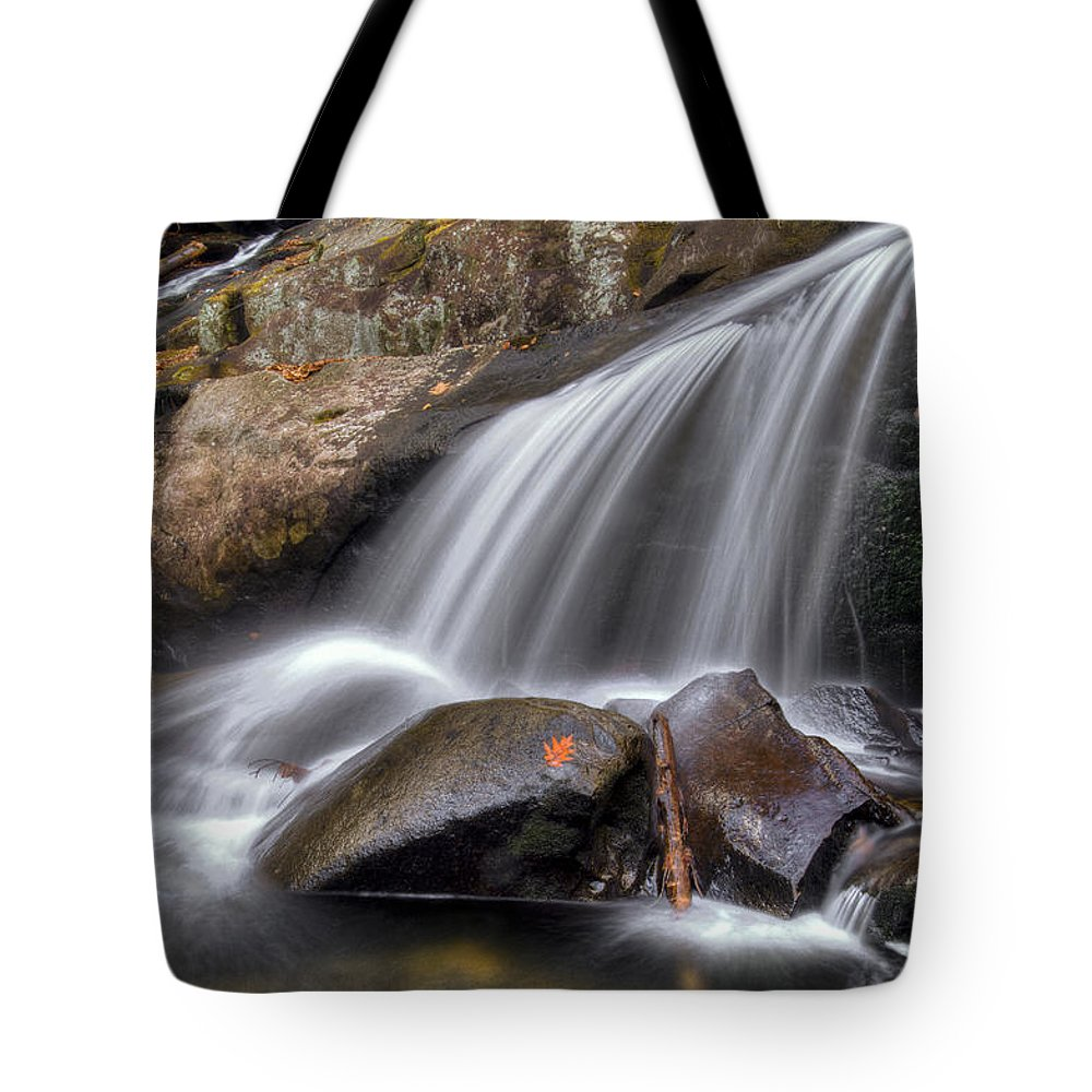 Appalachia Tote Bag featuring the photograph Sassy Waters by Debra and Dave Vanderlaan