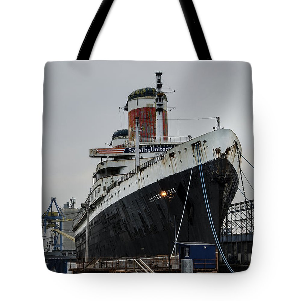 Save Tote Bag featuring the digital art Save The United States by Bill Cannon