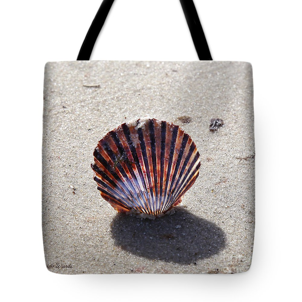 Scalloped Tote Bag featuring the photograph Scalloped by Michelle Constantine