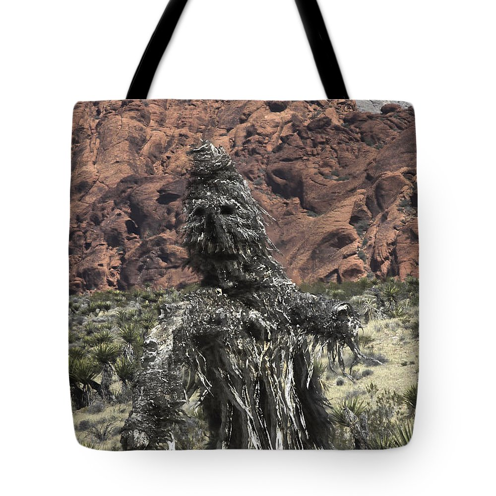 Cactus Tote Bag featuring the photograph Scarecrow Cactus by David Kehrli