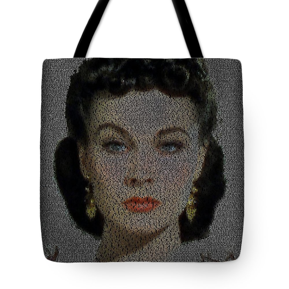 Scarlett Ohara Quotes Mosaic Tote Bag For Sale By Paul Van Scott