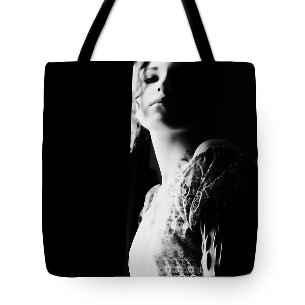 Black Tote Bag featuring the photograph Scars Are Souvenirs You Never Lose by Jessica Shelton