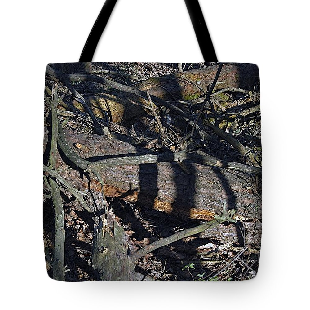 Forest Floor Tote Bag featuring the photograph Scat by Joseph Yarbrough