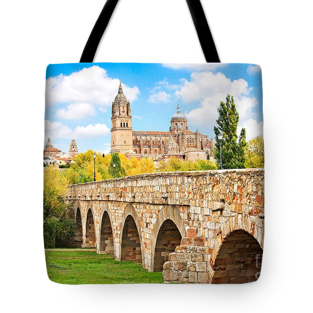 Spain Tote Bag featuring the photograph Scenic Salamanca by JR Photography