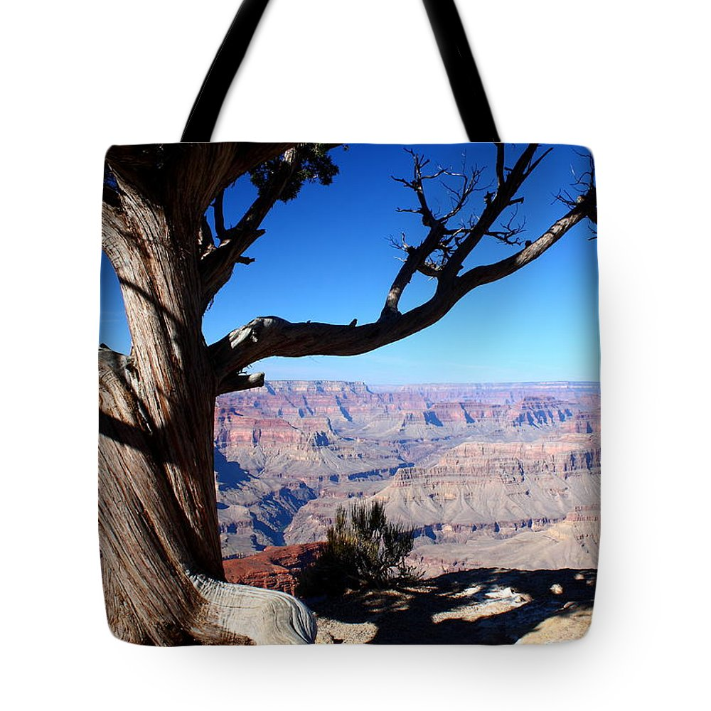 Scenic Survival Tote Bag featuring the photograph Scenic Survival by Patrick Witz