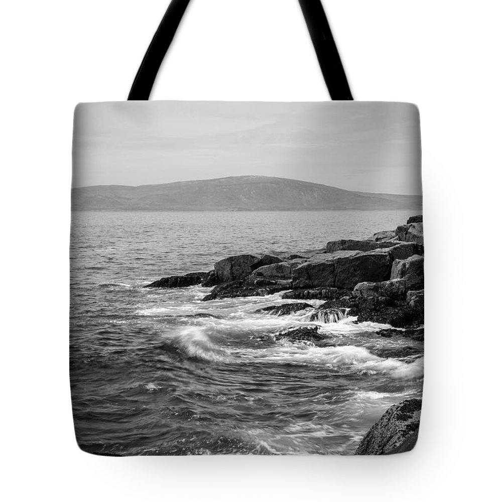 Acadia Tote Bag featuring the photograph Schoodic by Kristopher Schoenleber