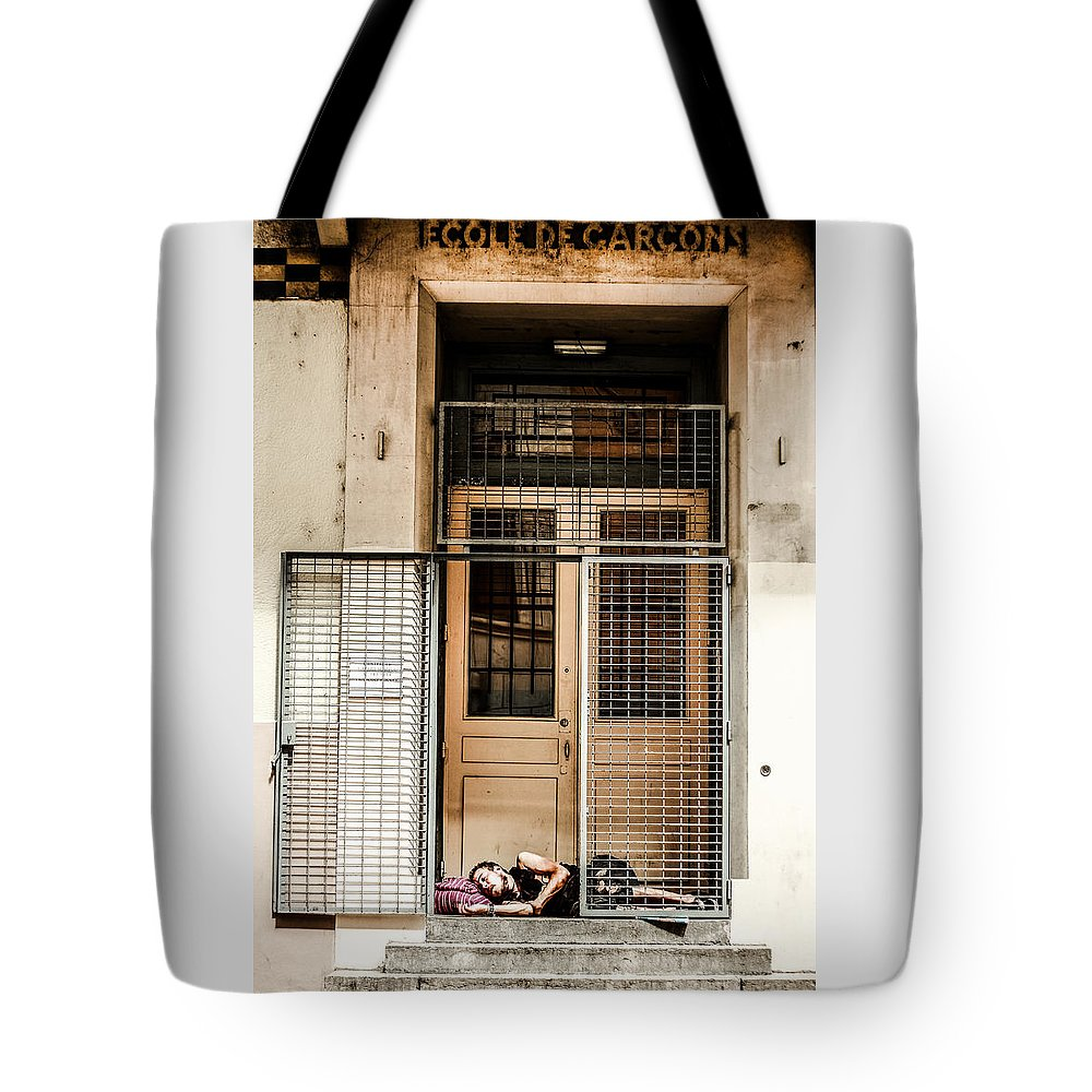 School Tote Bag featuring the photograph School Closure by Stwayne Keubrick