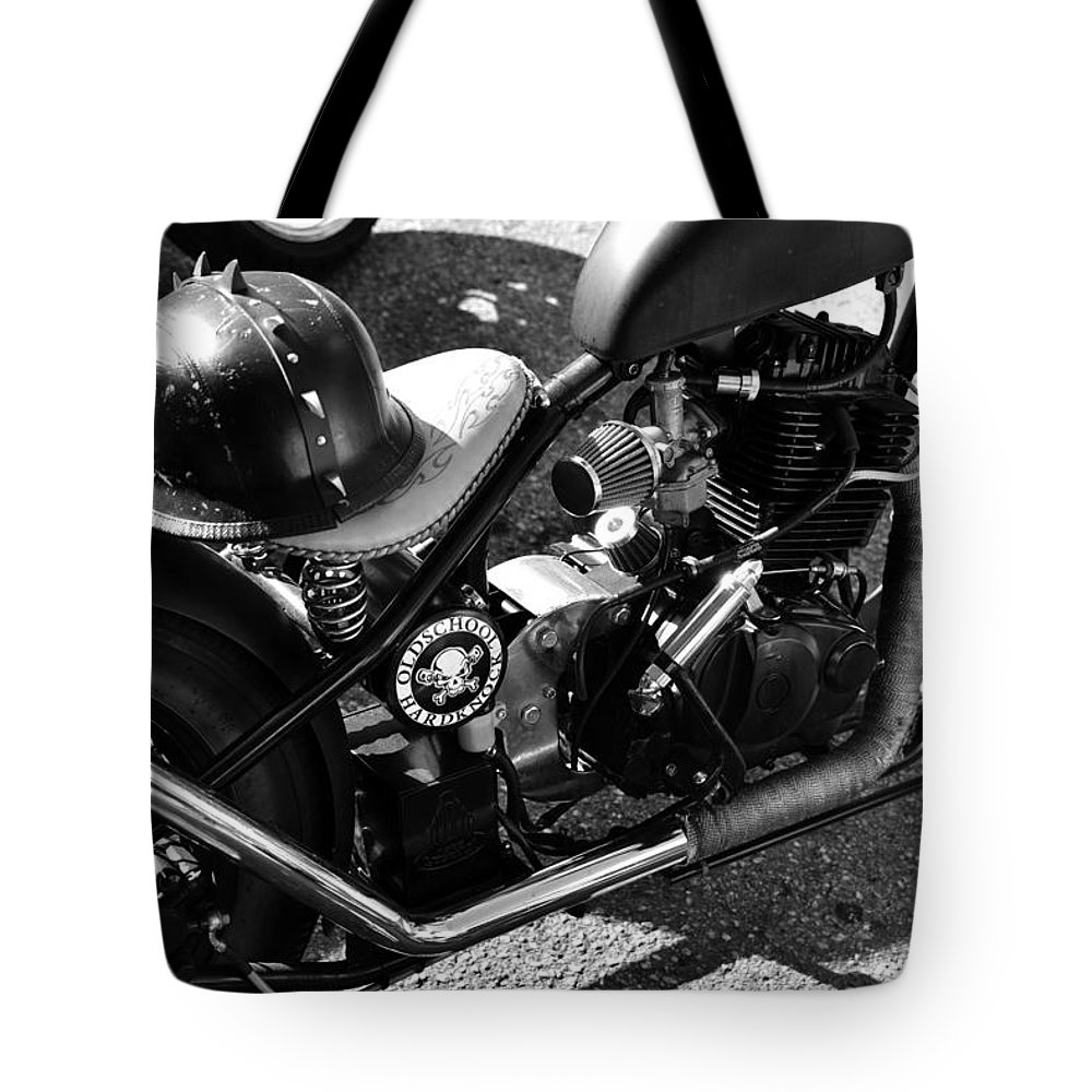 Old School Tote Bag featuring the photograph School Of Hardknocks by David Lee Thompson