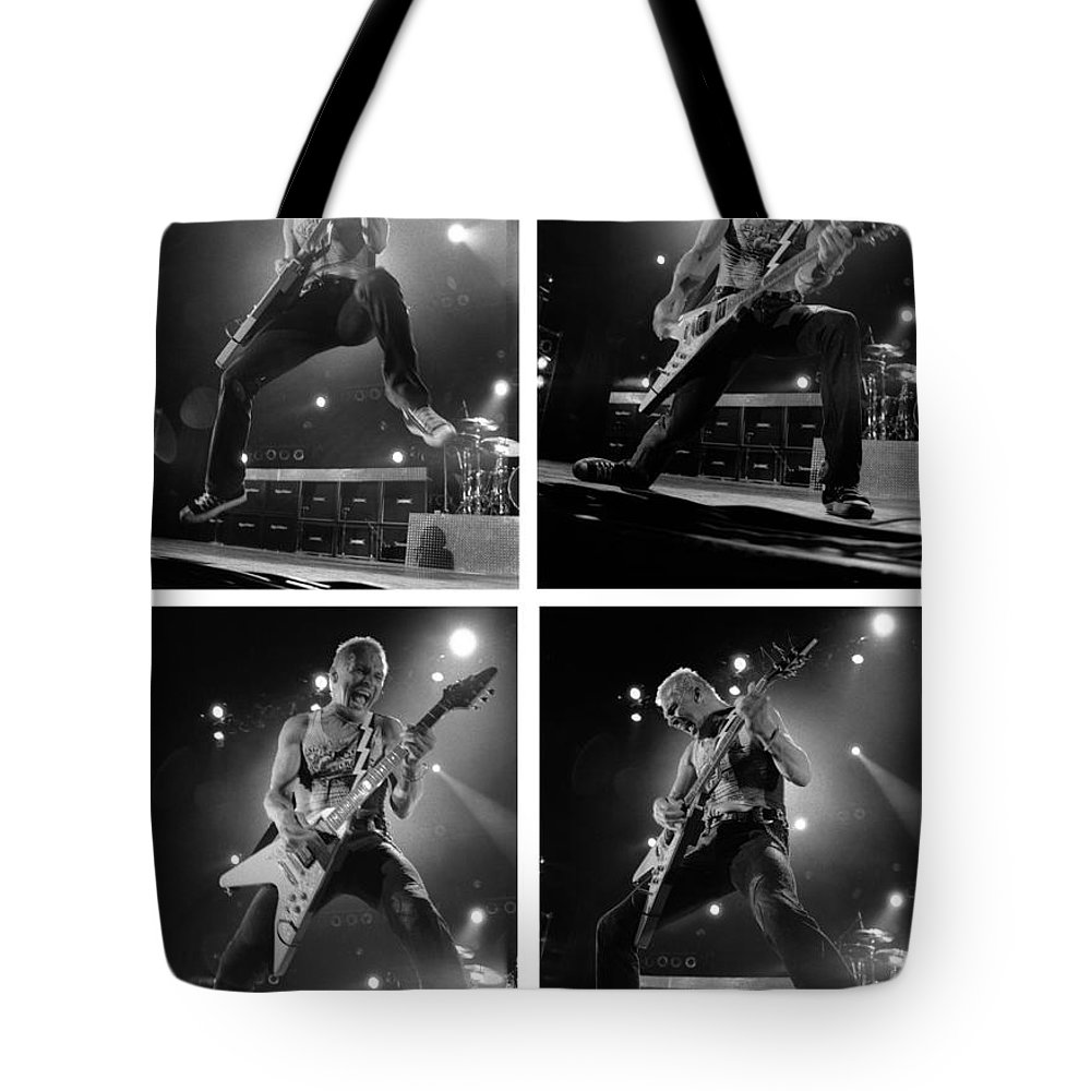 Scorpions Tote Bag featuring the photograph Scorpions-rudolph-gp19 by Timothy Bischoff