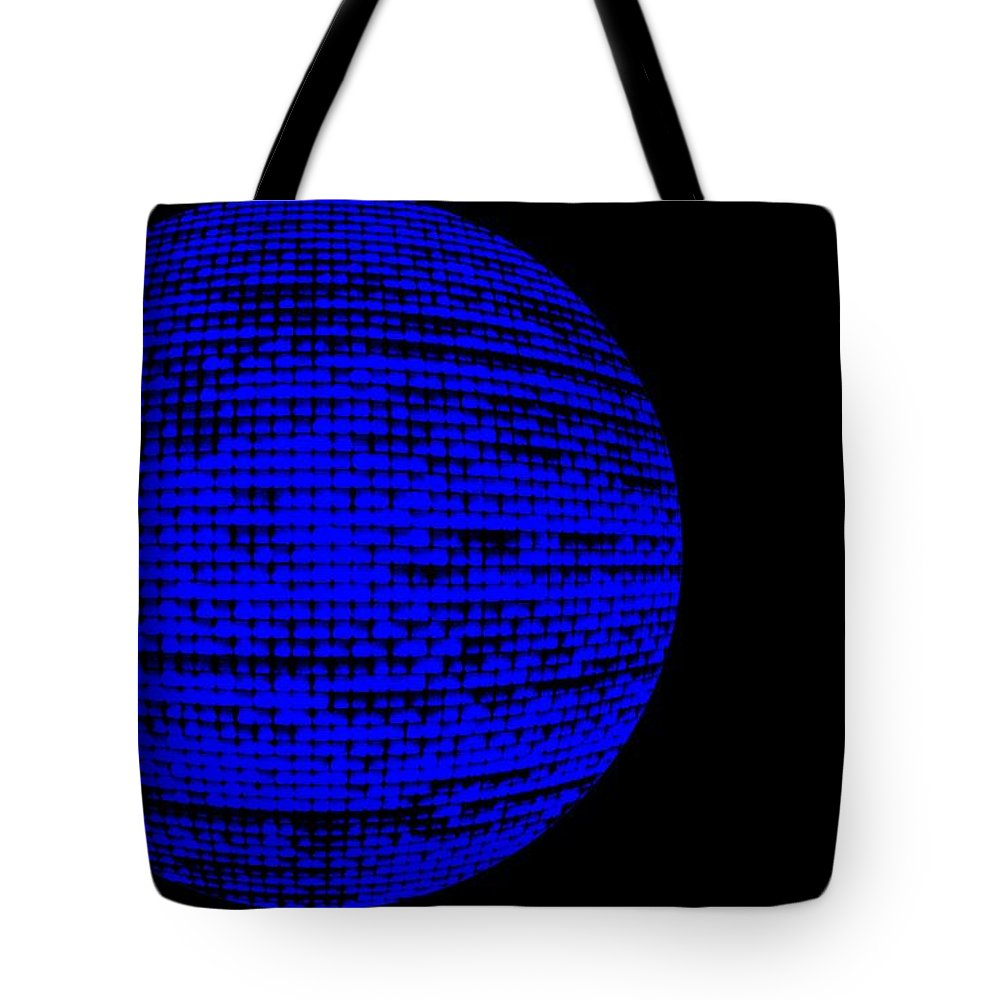 Window Tote Bag featuring the photograph Screen Orb-16 by Larry Jost