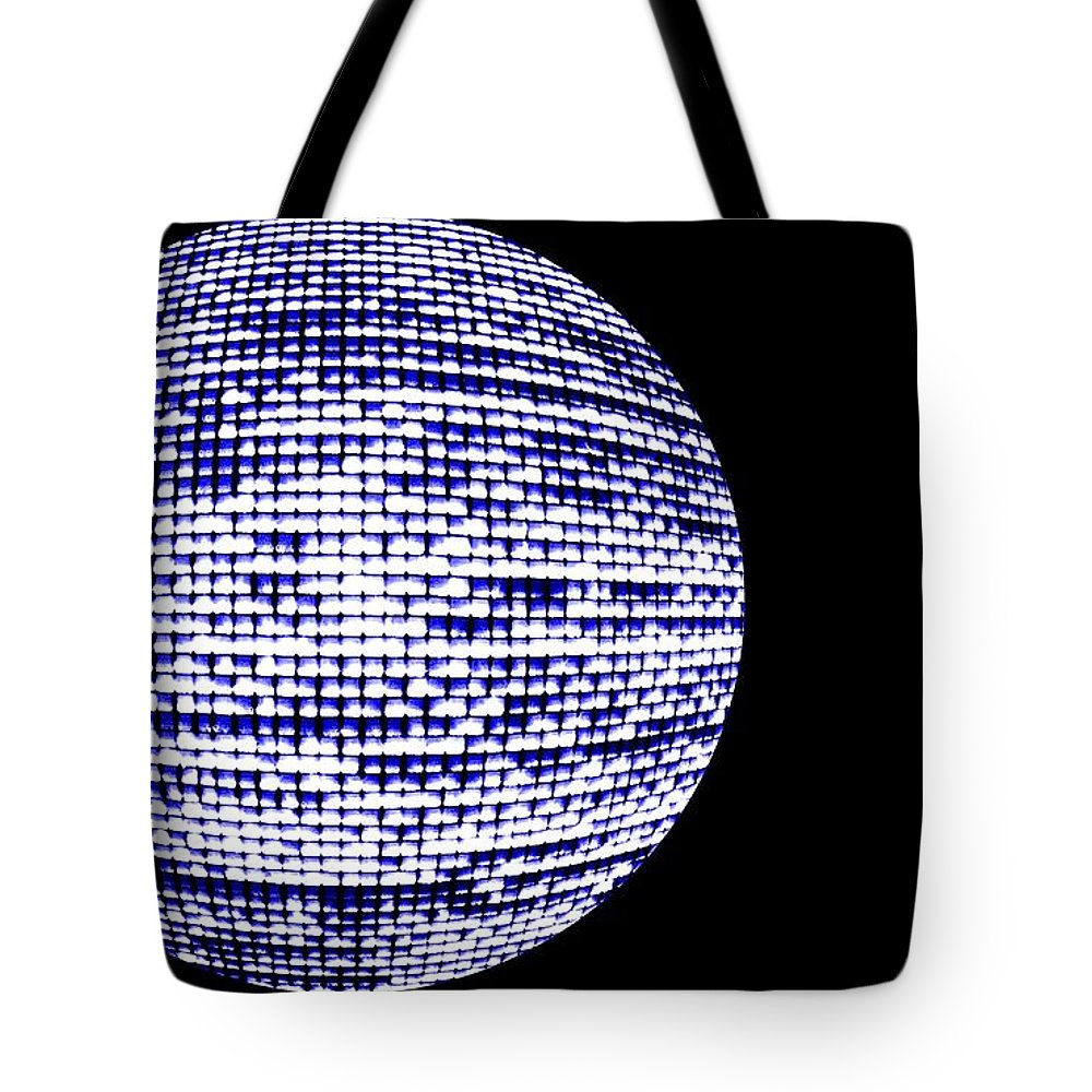 Window Tote Bag featuring the photograph Screen Orb-18 by Larry Jost