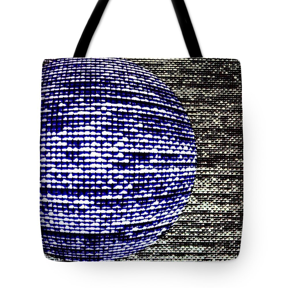Window Tote Bag featuring the photograph Screen Orb-23 by Larry Jost