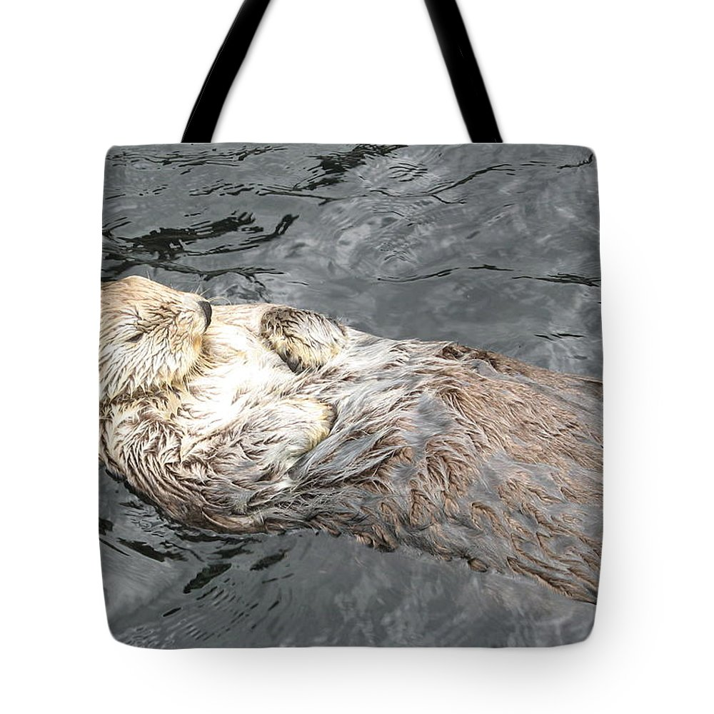 Photographs Tote Bag featuring the photograph Sea Otter by Brian Chase