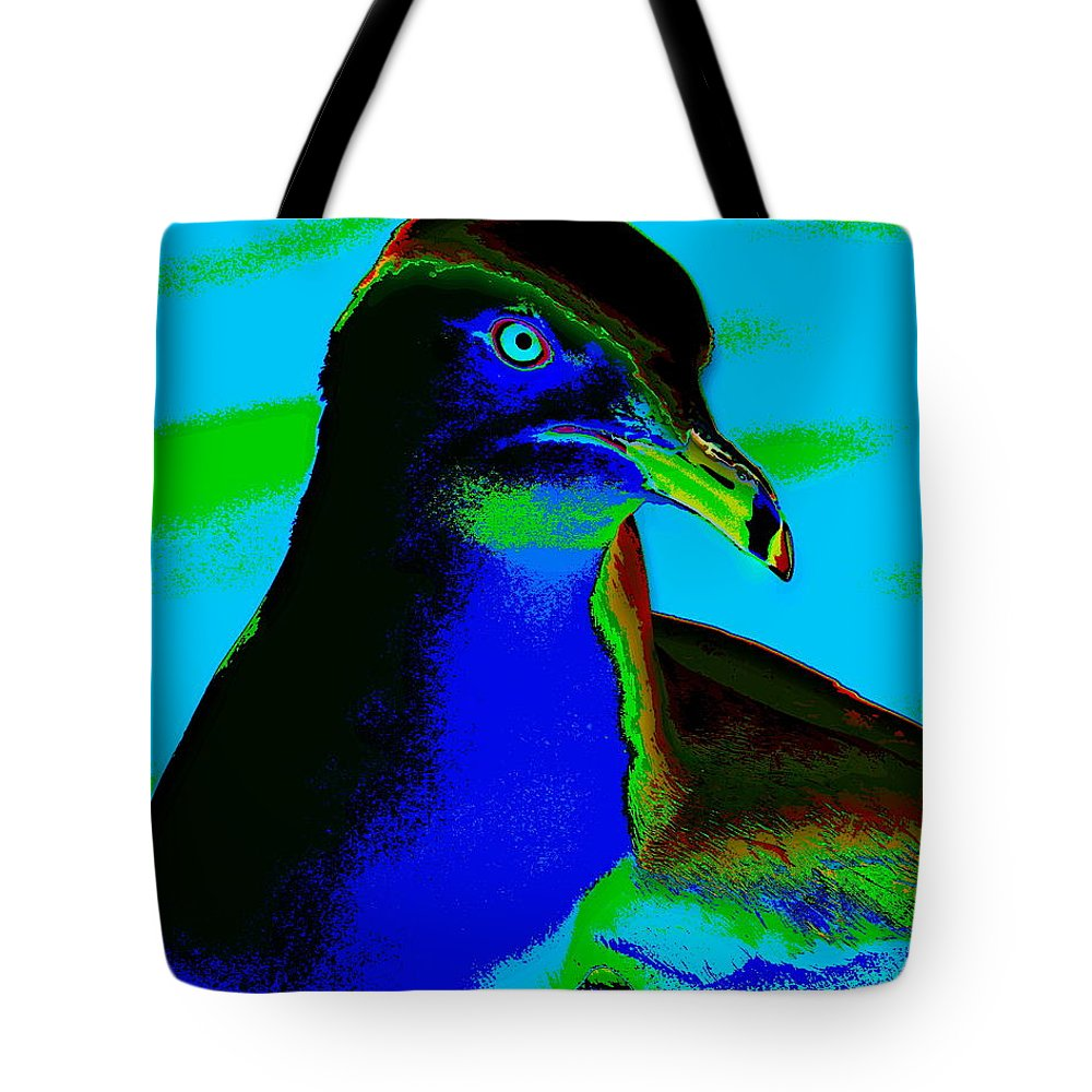 Seagulls Tote Bag featuring the photograph Seagull Art 2 by Ben Upham III