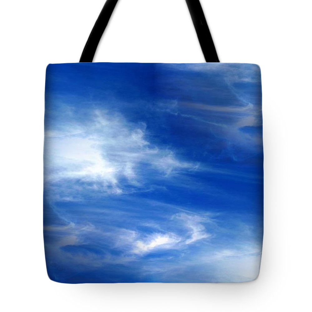 Seamless Tote Bag featuring the photograph Seamless Background Sky by Henrik Lehnerer