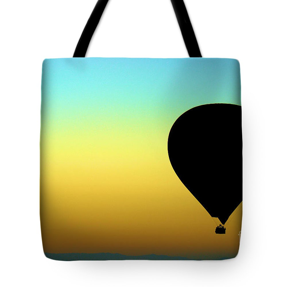 Silhouette Tote Bag featuring the photograph Searching For The Gods by Brian Raggatt