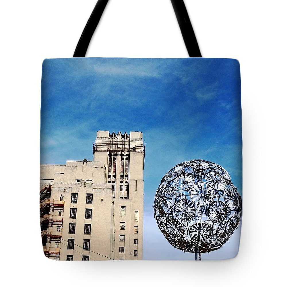 Memphis Tote Bag featuring the photograph Sears Crosstown Memphis by Lizi Beard-Ward