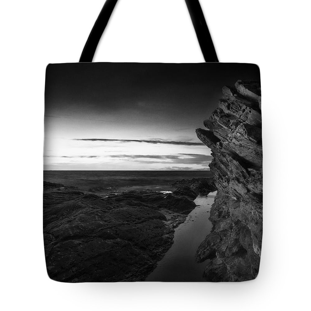 Landscape Tote Bag featuring the photograph Seascape by Ingrid Smith-Johnsen