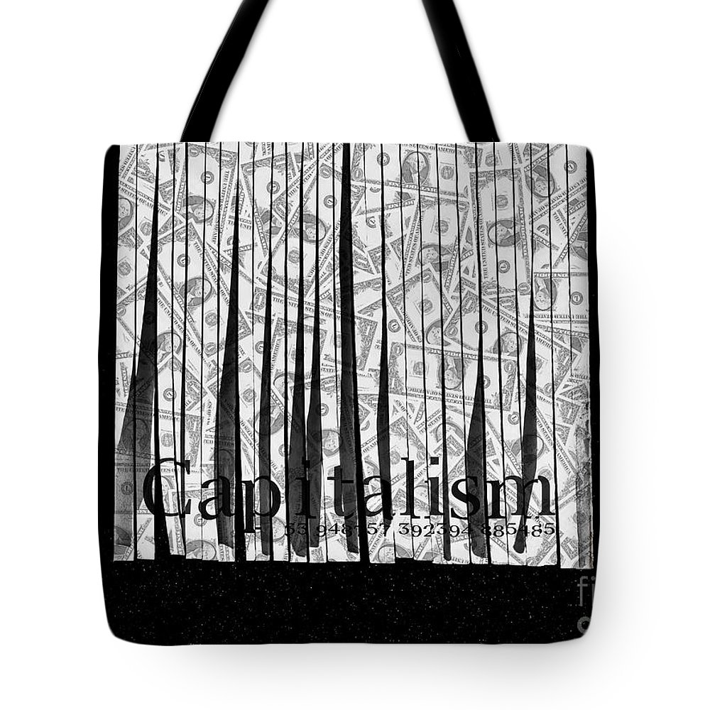 Corruption Tote Bag featuring the photograph Secrets Behind The Veil Of Crony Capitalism by Jorgo Photography - Wall Art Gallery