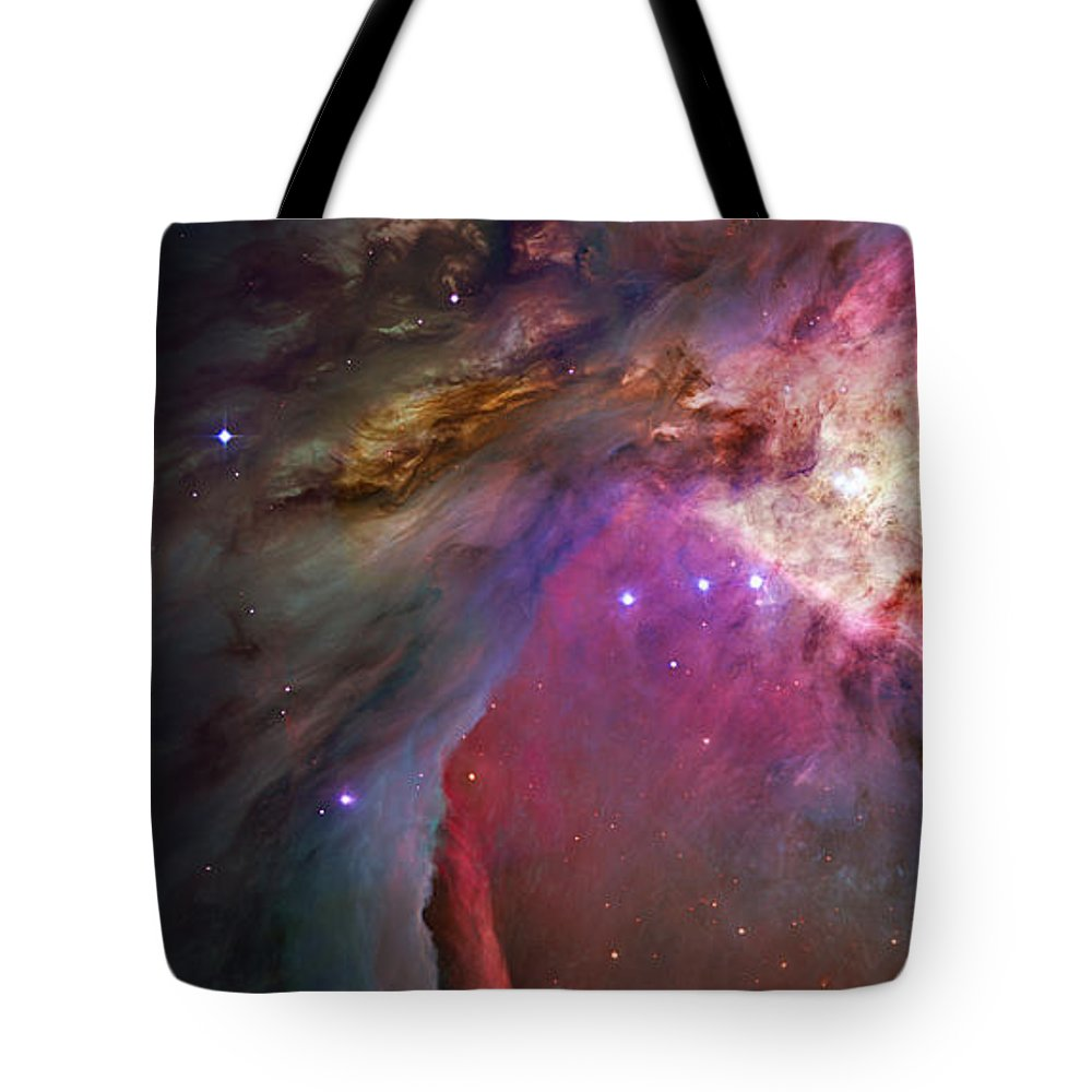 Messier 42 Tote Bag featuring the photograph Secrets Of Orion II by Ricky Barnard