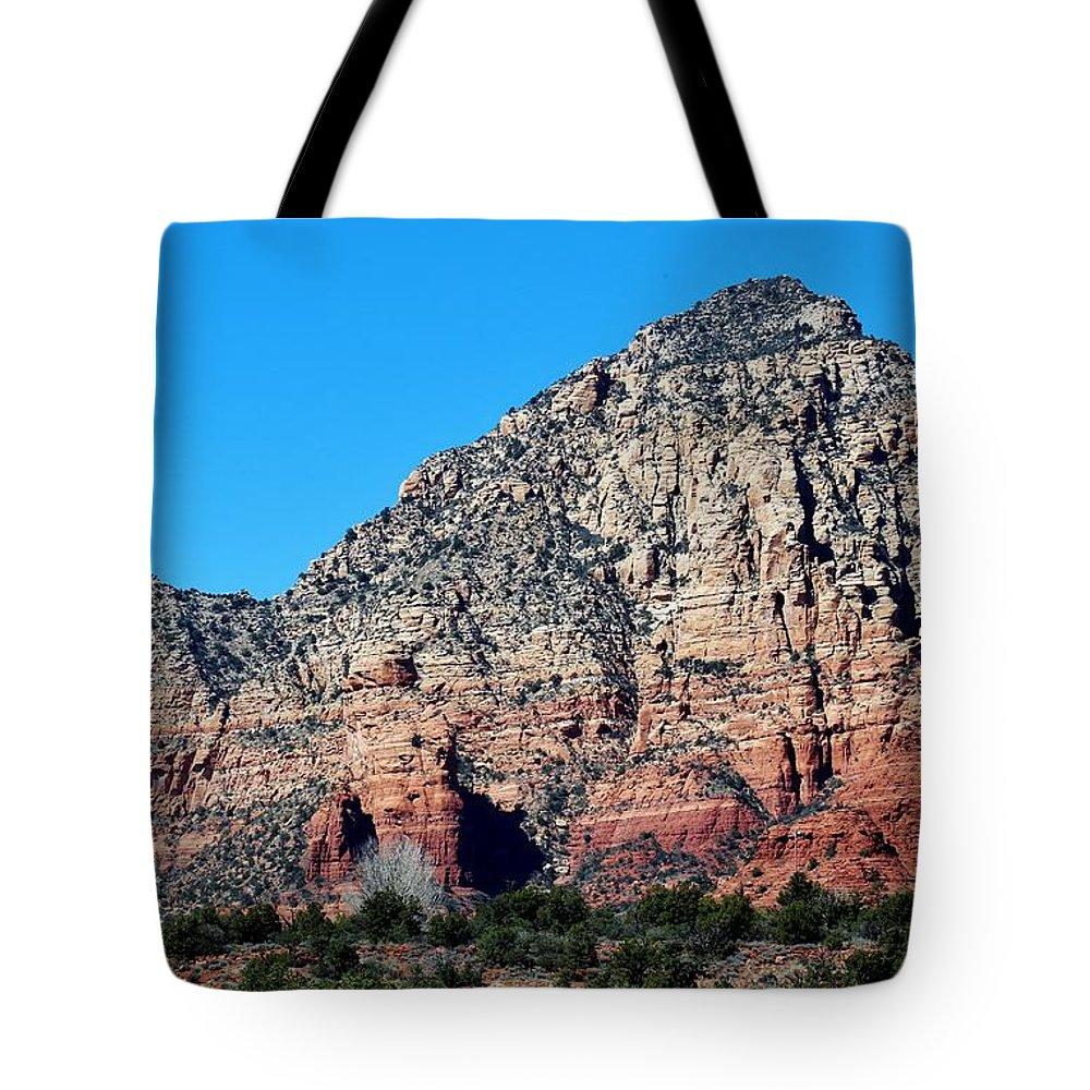 Nature Tote Bag featuring the photograph Sedona Landscape 031015aba by Edward Dobosh